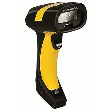 Datalogic® PM8300-910RBK1 Handheld Barcode Scanner, 1D