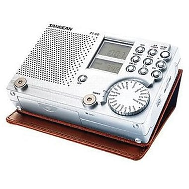 Sangean PT-50 FM/AM/SW Clock Radio
