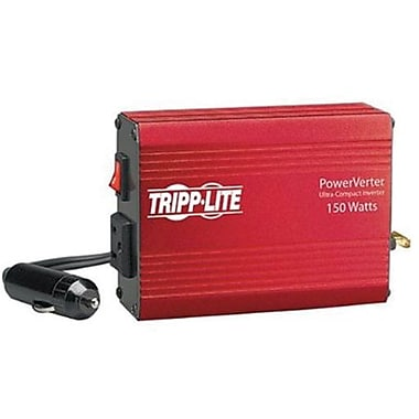 Tripp Lite PowerVerter® 150 W Ultra-Compact Inverter, 12 VDC Input, 120 VAC Output, 1 Outlet