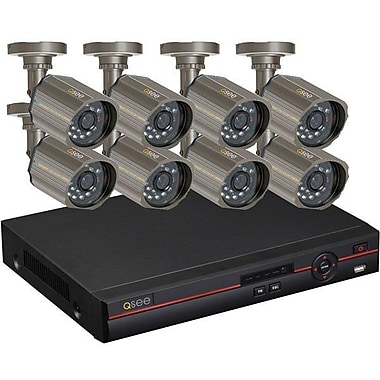 Q-See™ QC448-818-5 8 Channel H.264 Digital Video Recorder