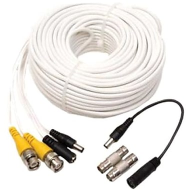 Q-See™ QS100B Extension Cable With BNC Connector, 100'(L)