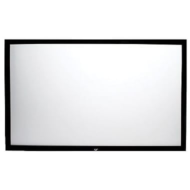 Elite Screens™ ezFrame Series 110in. Wall Mount Projector Screen, 16:9, Black Aluminum Casing