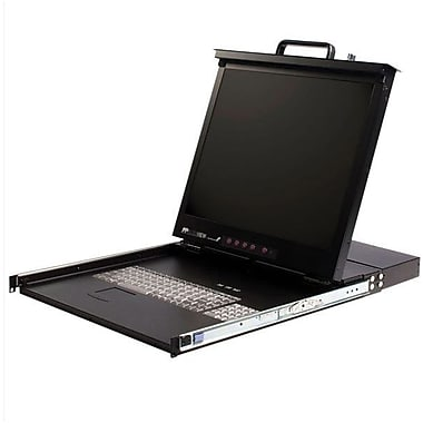 Startech.Com® RACKCONS 17in. Rack Mount LCD Console With 16 Port KVM Switch