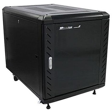 Startech.Com® RK1236BKF Knock-Down Server Rack Cabinet With Casters