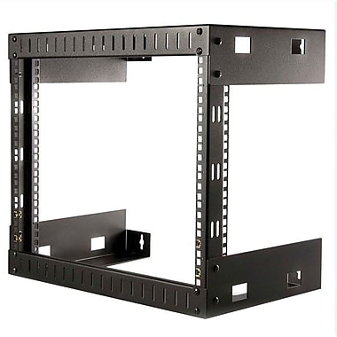 Startech.Com® RK812WallO Open Frame Wall Mount Equipment Rack