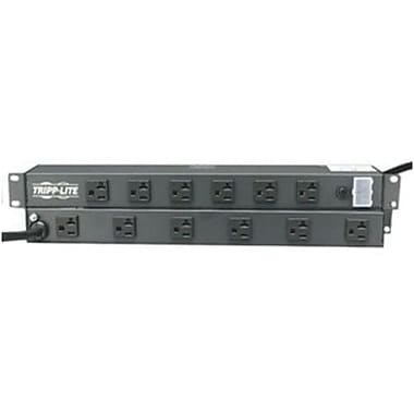 Tripp Lite RS-1215-20T Power Strip With 15' Black Cord, 12 Outlets