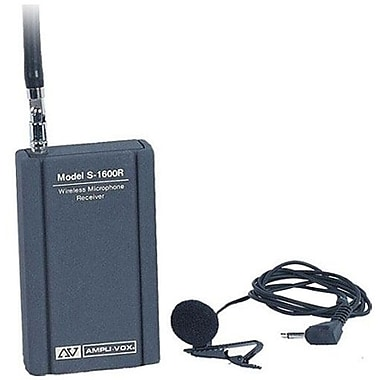 AmpliVox® S1600 Wireless Leapel Microphone System Kit