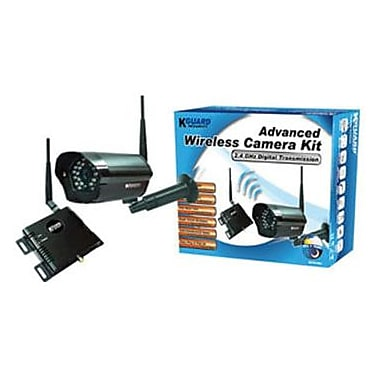 Kworld® SEC-CAM_WLP614M1 WL Cmos Camera Kit With 2.4 Ghz Digital Transmission