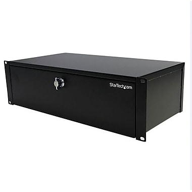 Startech.Com® SH39LK 9in. Deep Rack Mount Locking Storage Drawer