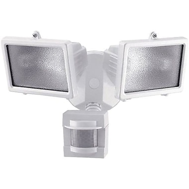 Chamberlain® Heath/Zenith 110 deg Motion Security Light, White Finish, 2 Head