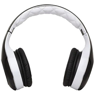 Soul SL300WB Elite Hi-Definition Headphone, White and Black