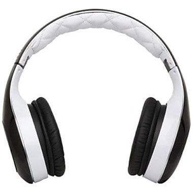 Soul SL300WB Elite Hi-Definition Headphone, White and Black