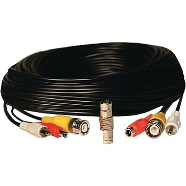 Security Labs® SLA41 BNC Camera Extension Cable, 50'(L)