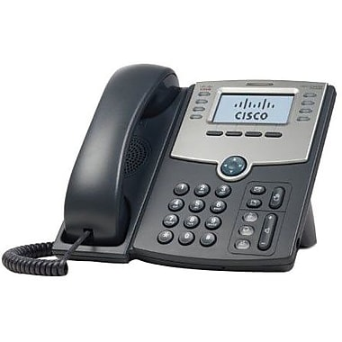 Cisco® SPA508G 8-Line IP Phone With 2-Port Switch