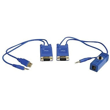 StarTech ST121UTP Mini VGA Over Cat 5 Audio Video Extender, 1 Port