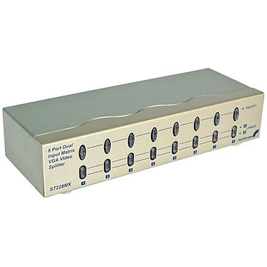 Startech.com® ST228 High Resolution Matrix VGA Video Switch, 10 Ports