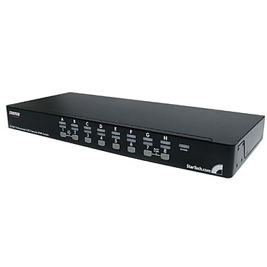 Startech.com® SV1631D USB/PS2 KVM Switch, 16 Ports