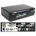 Startech.com® SV231UADVI KVM Switch With Audio, 2 Ports