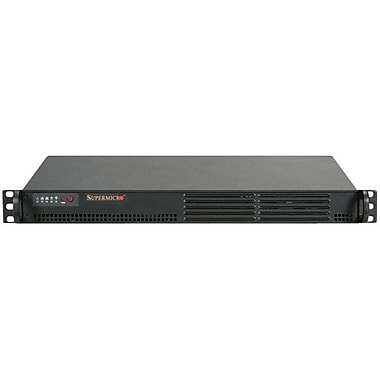 Supermicro® SuperServer SYS-5015A-EHF-D525 Super Server, 1U