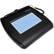 """Topaz SignatureGem T-L755 4""""x3"""" LCD Signature Capture Pad, Dual Serial/USB (T-LBK755-BHSB-R)"""