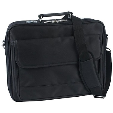 Atdec TAACASE10 Nylon Twill 15.4in. Laptop Case With Pockets Straps