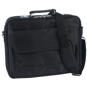 "Atdec TAACASE10 Nylon Twill 15.4"" Laptop Case With Pockets Straps"