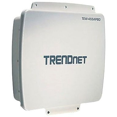 TRENDnet® TEW-455APBO Wireless Outdoor PoE Access Point