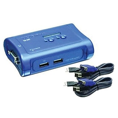 TRENDnet® TK-207K USB KVM Switch Kit, 2 Ports