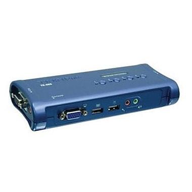 TRENDnet® TK-409K USB KVM Switch Kit, 4 Ports
