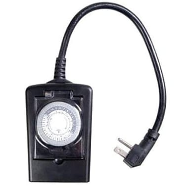 AmerTac™ TM12DOLB 1 Outlet Daily Mechanical Timer