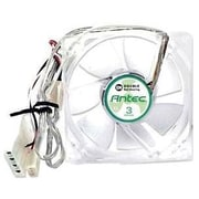 Antec® TriCool 80mm Double Ball Bearing Case Fan With 3 Speed Switch, 2600 RPM