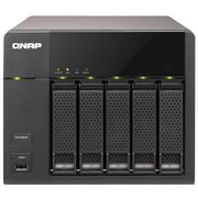 QNAP® TS-569L High Performance 5-Bay Network Attached Storage Server, 20 TB