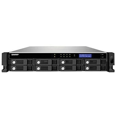 QNAP® TS-869U-RP High Performance 8-Bay Network Attached Storage Server, 32 TB