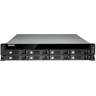 QNAP® TS-870U-RP Ultra-High Performance 8-Bay Network Attached Storage Server, 32 TB