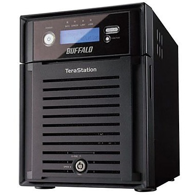 Buffalo TeraStation™ ES TS-XE8.0TL/R5 4-Bay Network Attached Storage, 8 TB