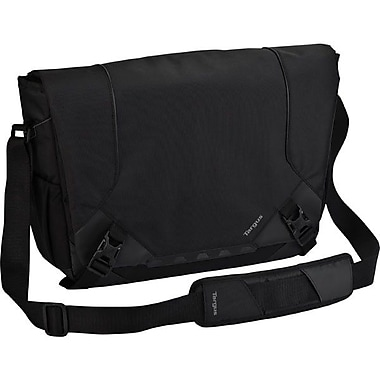 Targus® TSM673US 16in. Drifter Messenger, Black/Gray