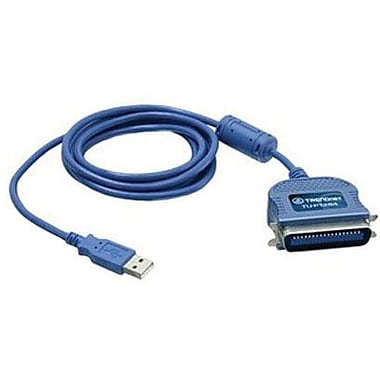 TRENDnet® TU-P1284 USB to Parallel Printer Cable Adapter