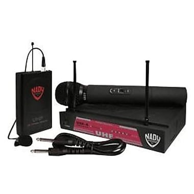 Nady® UHF-4 11 Channel Wireless Microphone System