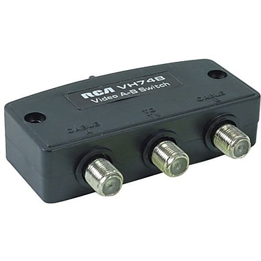 RCA VH74N Deluxe 2-Way A/B Coaxial Cable Switch