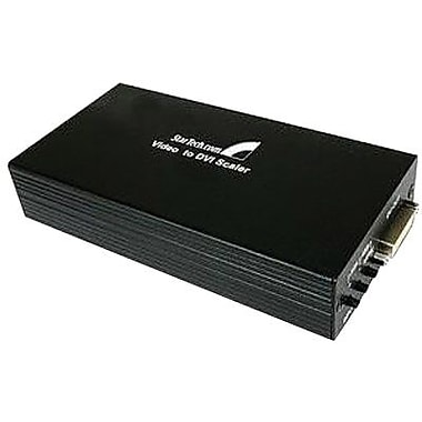Startech.com® Composite and S-Video to DVI-D Video Converter With Scalar