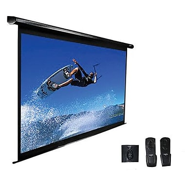 Elite Screens™ VMAX2 Series 153in. Electric Wall and Ceiling Projector Screen, 1:1, White Casing