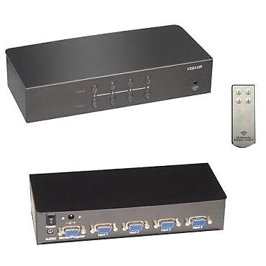 RF-Link™ Araneus VSB Audio/Video Swtich Box, 4 Ports
