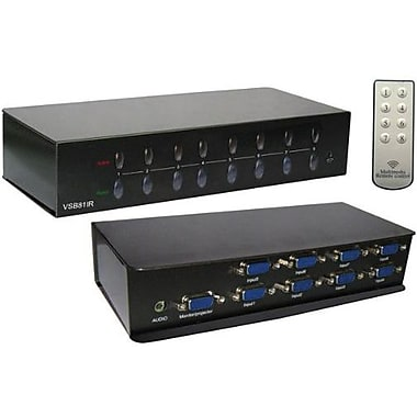 RF-Link™ Araneus VSB Audio/Video Swtich Box, 8 Ports