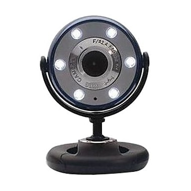 Gear Head™ WCF2600HD-CP10 Webcam, 1280 x 1024 HD, 5 MP, Blue