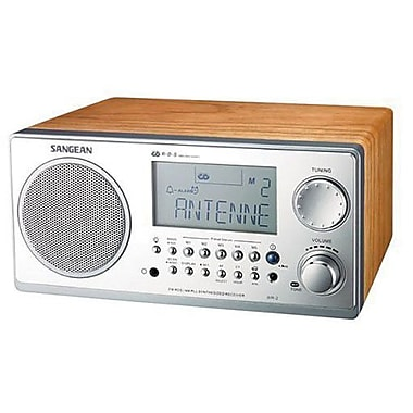 Sangean WR-2 Wooden Cabinet Receivers