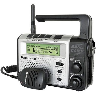 Midland Radio® XT511 Base Camp 2-Way AM/FM Radio