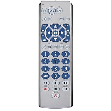 AmerTac™ Zenith ZB410 4-Device Universal Remote Control