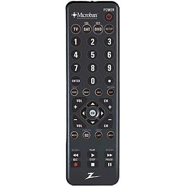 AmerTac™ Zenith ZC300MB 3-Device Universal Remote Control