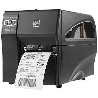 Zebra Technologies® ZT220 DT 203 dpi Fast Ethernet Industrial Printer 10.9in.(H) x 9 1/2in.(W) x 17in.(D)