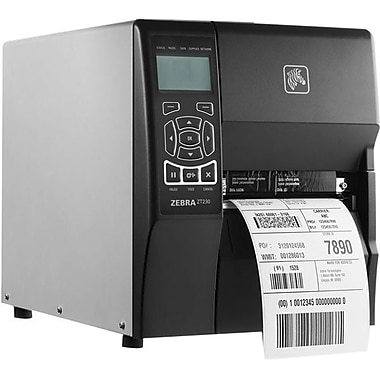 Zebra Technologies® ZT230 TT 203 dpi Wi-Fi Industrial Printer 10.9in.(H) x 9 1/2in.(W) x 17in.(D)